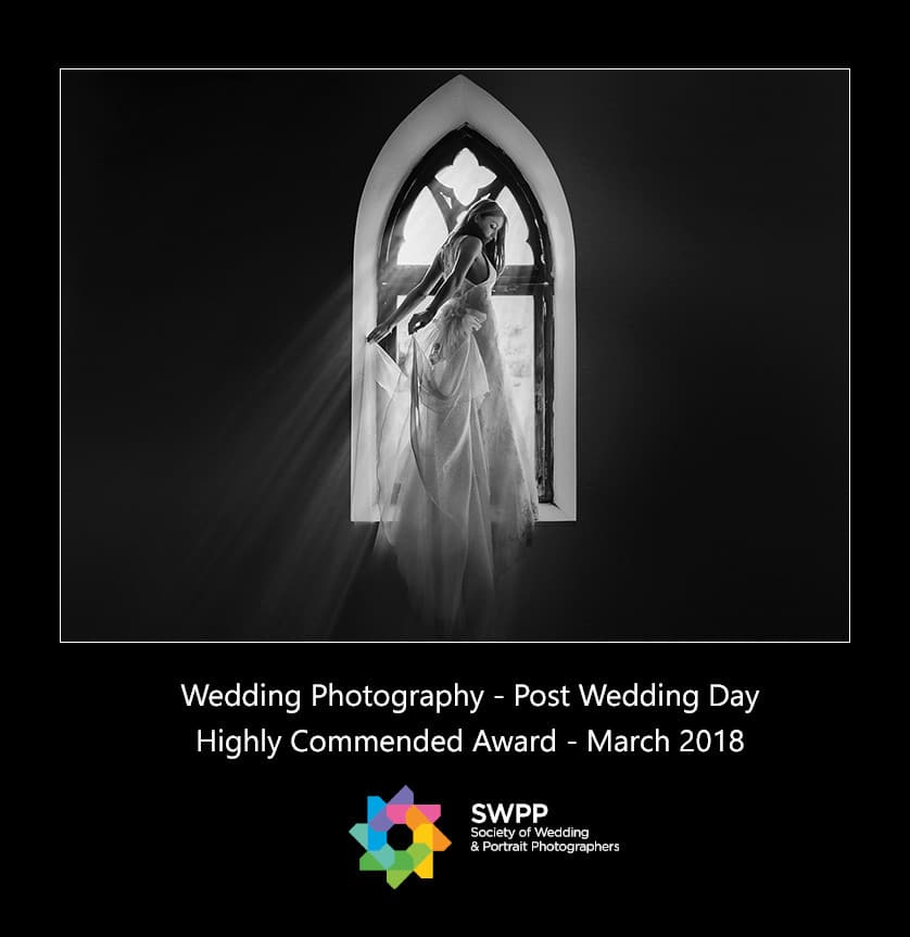 Wedding Photographer Greece  YannisLarios_SWPP-HighlyCommended_PostWeddingDay_Award_March2018