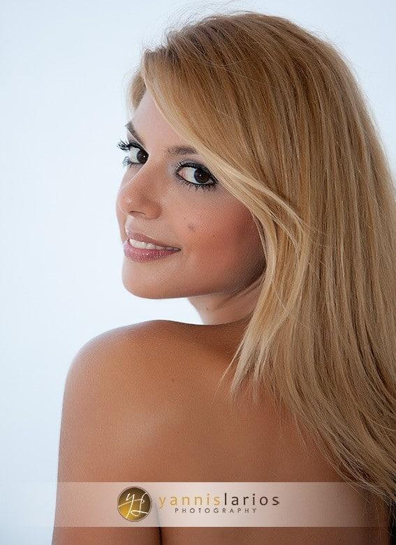Greek Wedding Photographer - Venia portrait