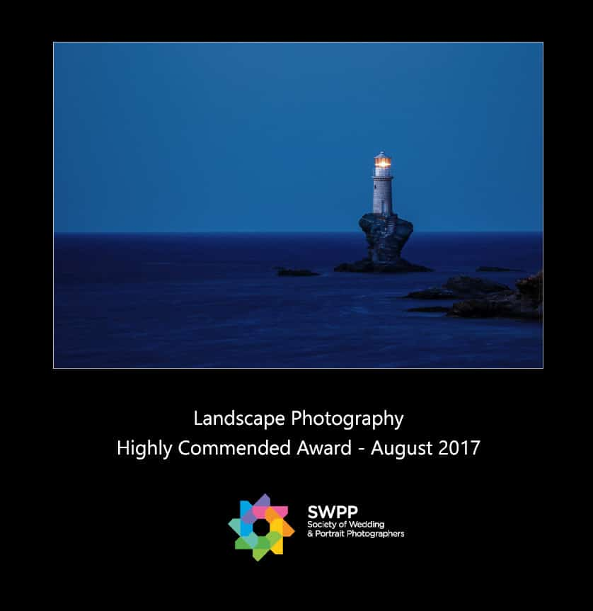 Wedding Photorgapher Greece Highly_Commended_LandscapePhotography_SWPP_Aug2017 Βραβεία φωτογραφίας