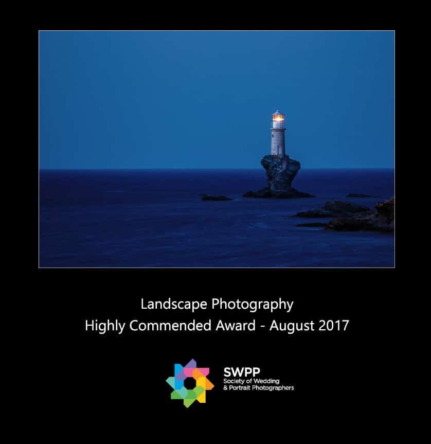 Wedding Photorgapher Greece Highly_Commended_LandscapePhotography_SWPP_Aug2017 Βραβεία φωτογραφίας