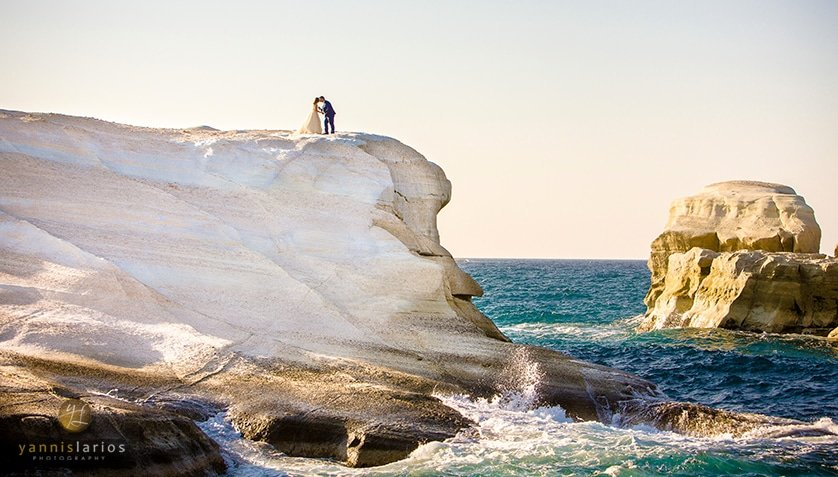 Wedding Photographer Greece i. Φωτογράφιση γάμου  Milos