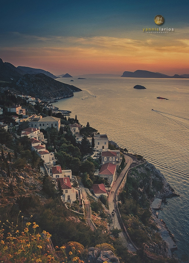 Wedding Photographer Greece i. Φωτογράφιση γάμου  Yannis_Larios_Landscape_Hydra_island